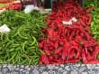 Ausflug in Alanya - auf Gemüsemarkt
