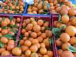 Großes Obstangebot - hier Orangen