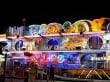 Luna Park im August Buden
