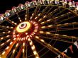 Das Riesenrad bei Nacht
