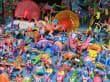 typisches buntes Spielzeug der Region um Mitla