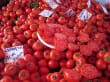 Gemüsemarkt im Basar von Alanya