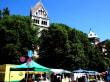 Markt um die Pfarrkirche St. Anna