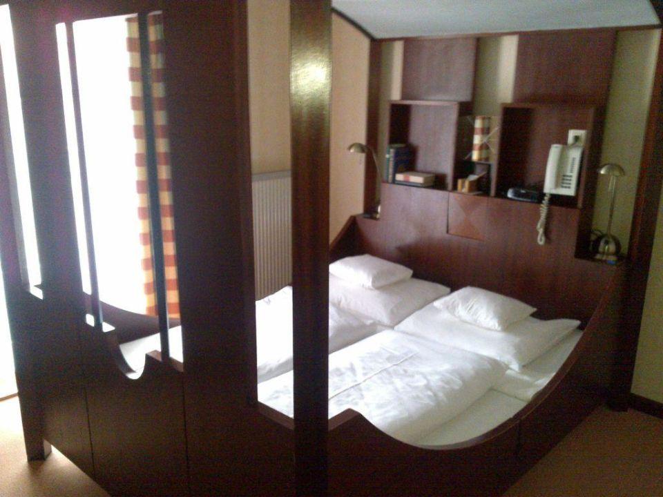 Zimmer - Das Bett Romantik Hotel Zum Stern