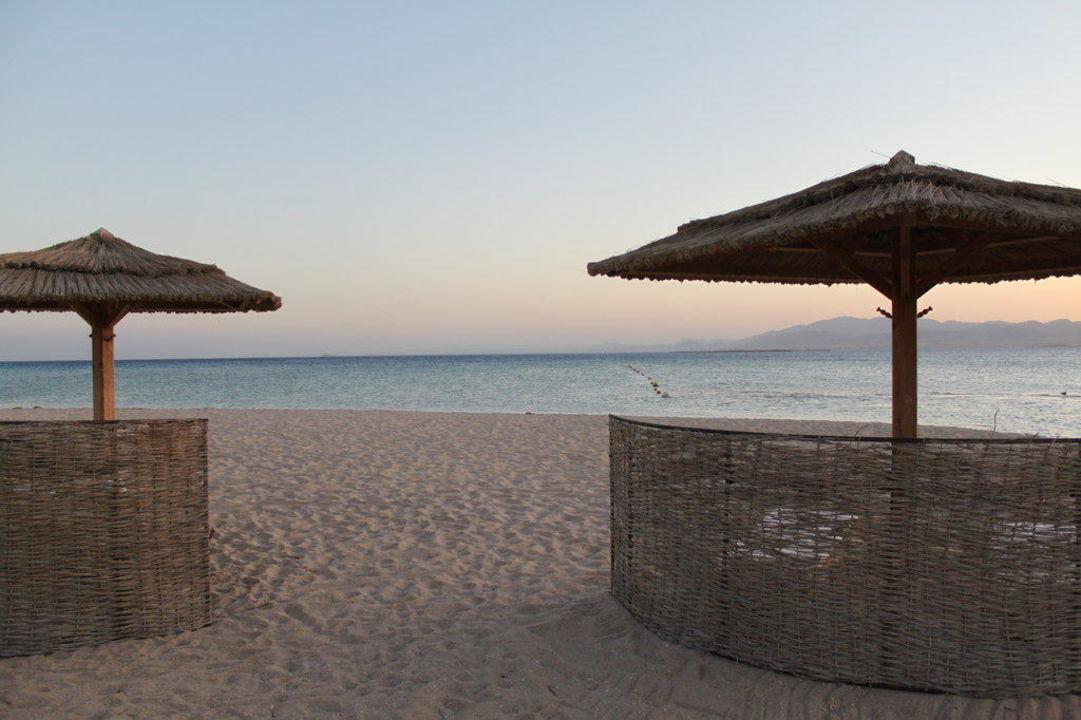 Blick auf die Gartenanlage Hotel Kempinski Soma Bay