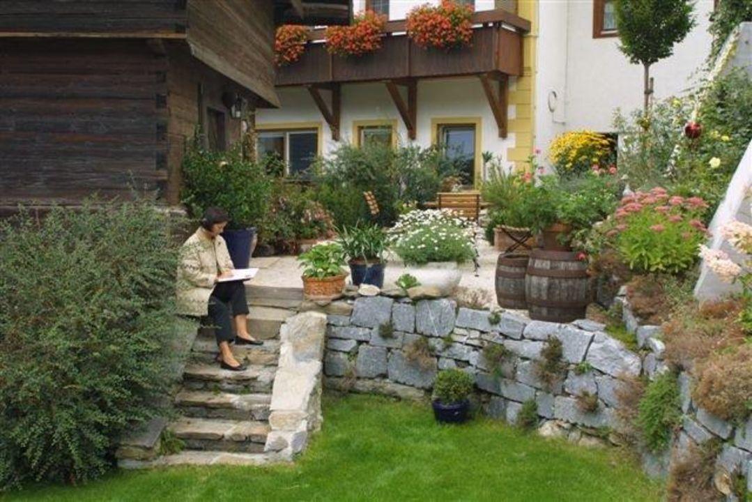Sommeraufnahme Das Landhaus Prägant Ferienappartements
