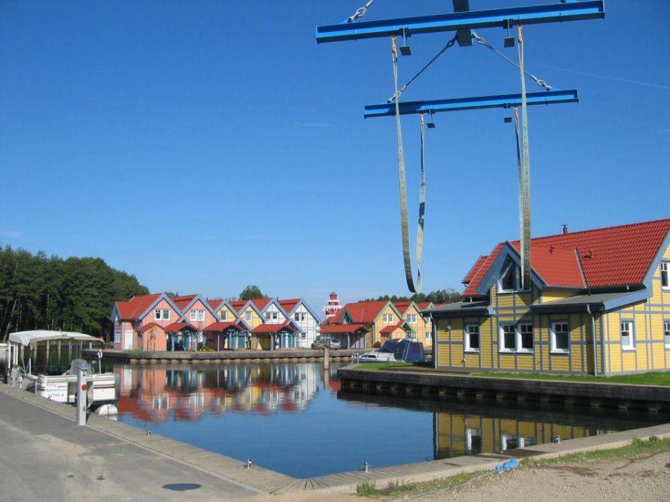 Spielplatz im Marinapark Ferienhäuser Sarcon Marinapark Rheinsberg