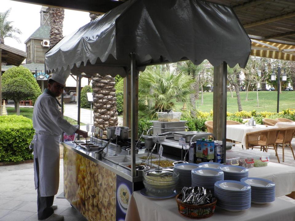 Nachspeisen Büffet Sunis Hotel Kumköy Beach Resort & Spa