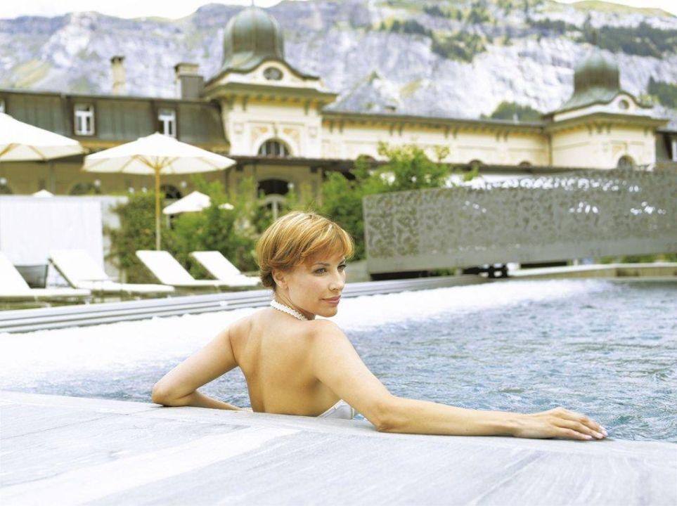 Sommerpanorama Waldhaus Flims Waldhaus Flims Mountain Resort & Spa - Grand Hotel Waldhaus