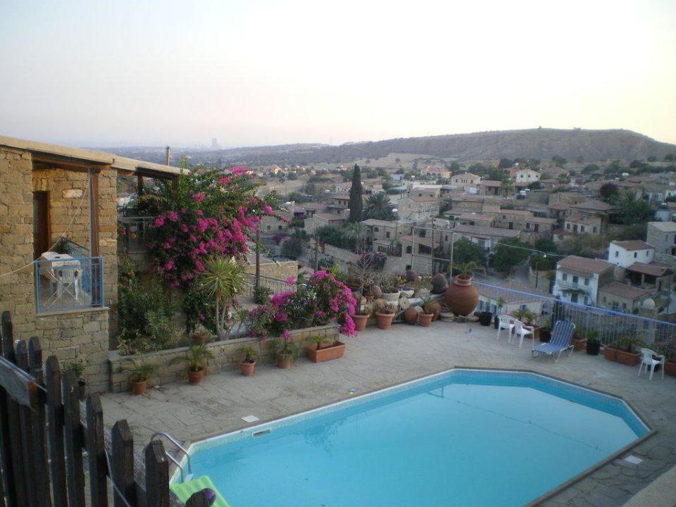 Restaurant mit Ausblick Cyprus Villages Kalavasos & Tochni