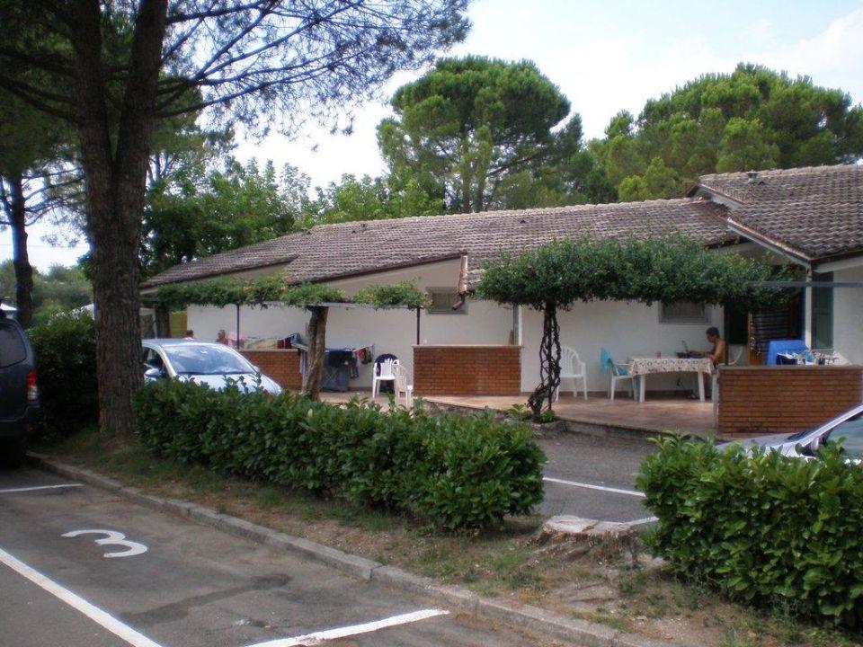 Steinbungalows Camping Cisano Camping Cisano San Vito