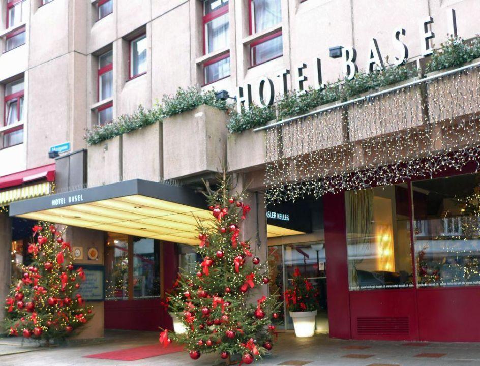 Aussenaufnahme Hotel Basel