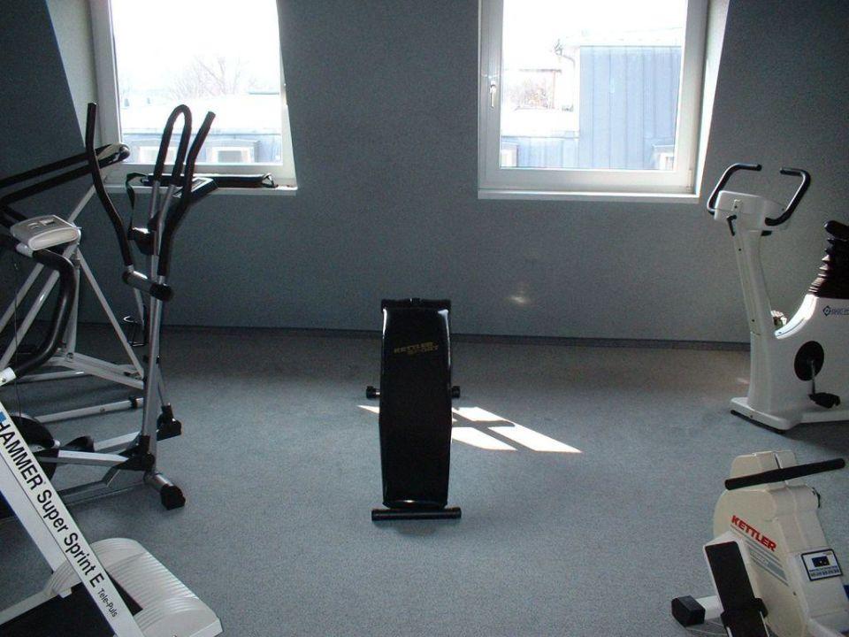 Fitnessbereich Hotel Arvena Kongress