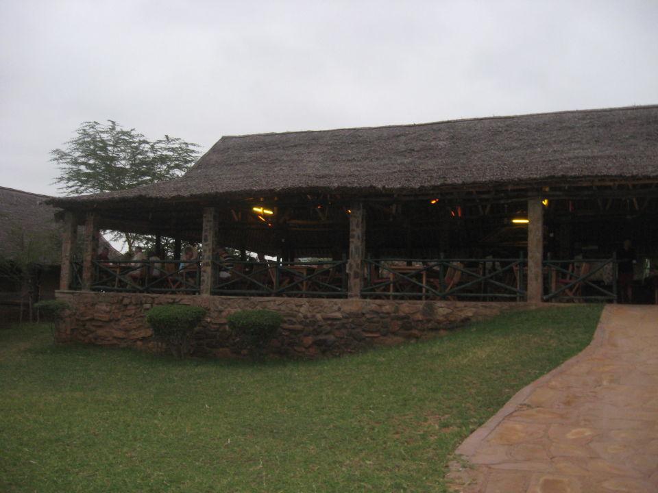 Rustikale Zelte mit großer Terrasse Man Eaters Camp/Lodge