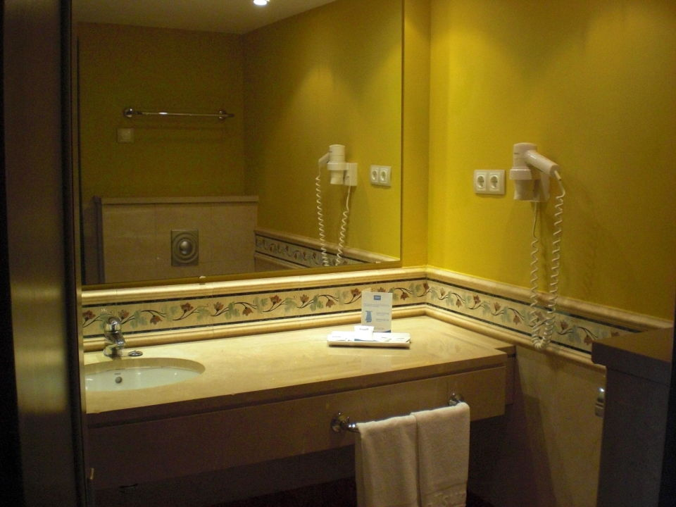 Badezimmer allsun Hotel Albatros