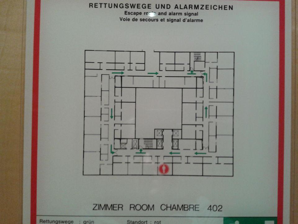 Lageplan Hotel Palace Berlin