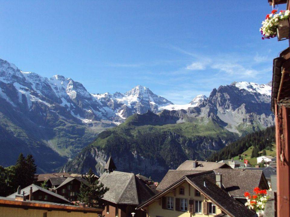 Coucher de soleil Hotel Jungfrau