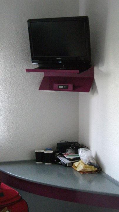 """Ibis Budget Dusche Im Zimmer : Bild """"Waschecke"""" zu ibis budget Hotel Rochelle in La Rochelle"""