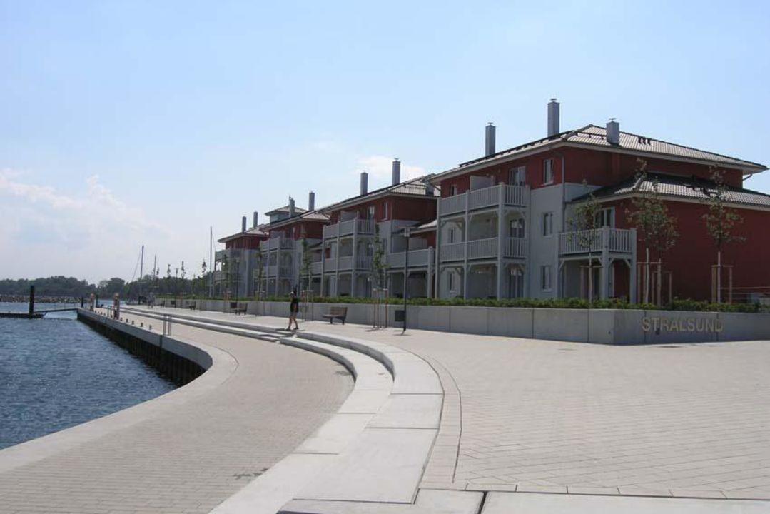 Ein Teil der Appartmentanlage Dorfhotel Boltenhagen