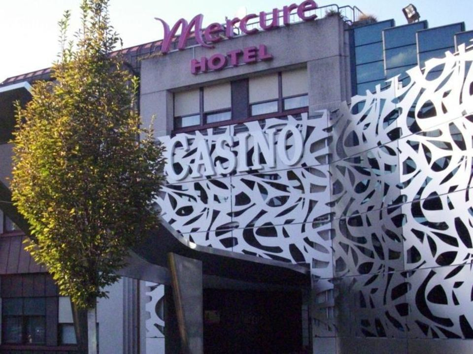 Rückseite des Hotels  Hotel Mercure Bregenz City