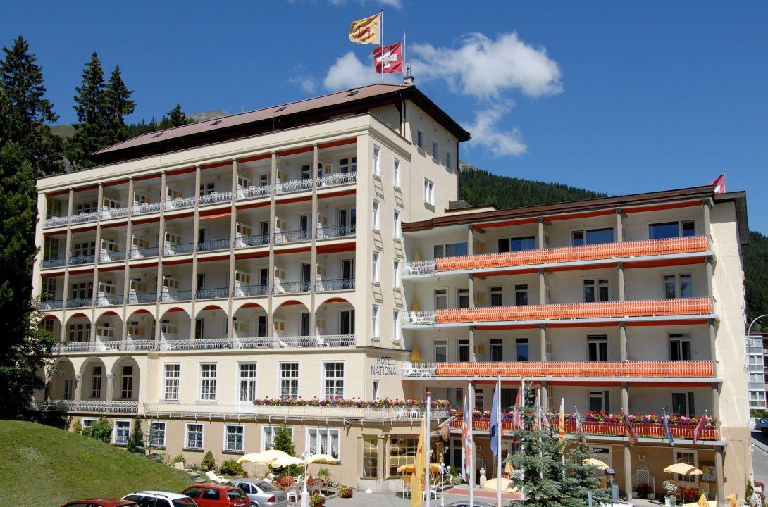 Speisesaal Hotel National