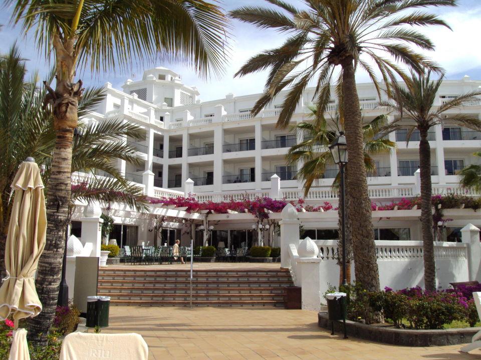 Typisches Buffet Abends Hotel Riu Palace Maspalomas