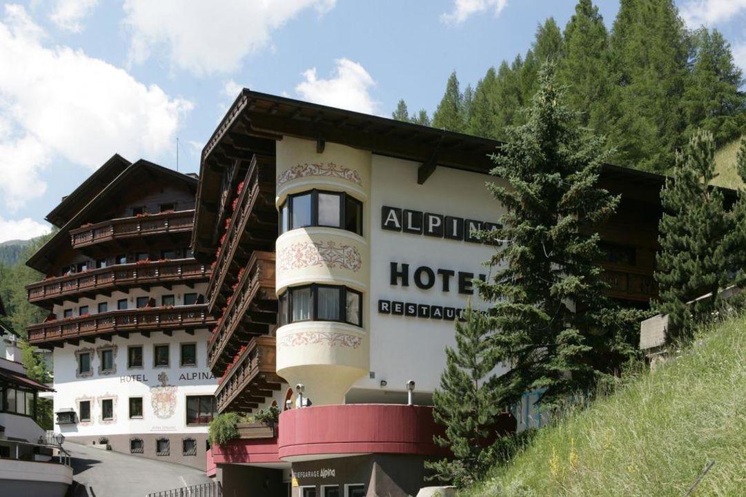 Barbereich Hotel Alpina