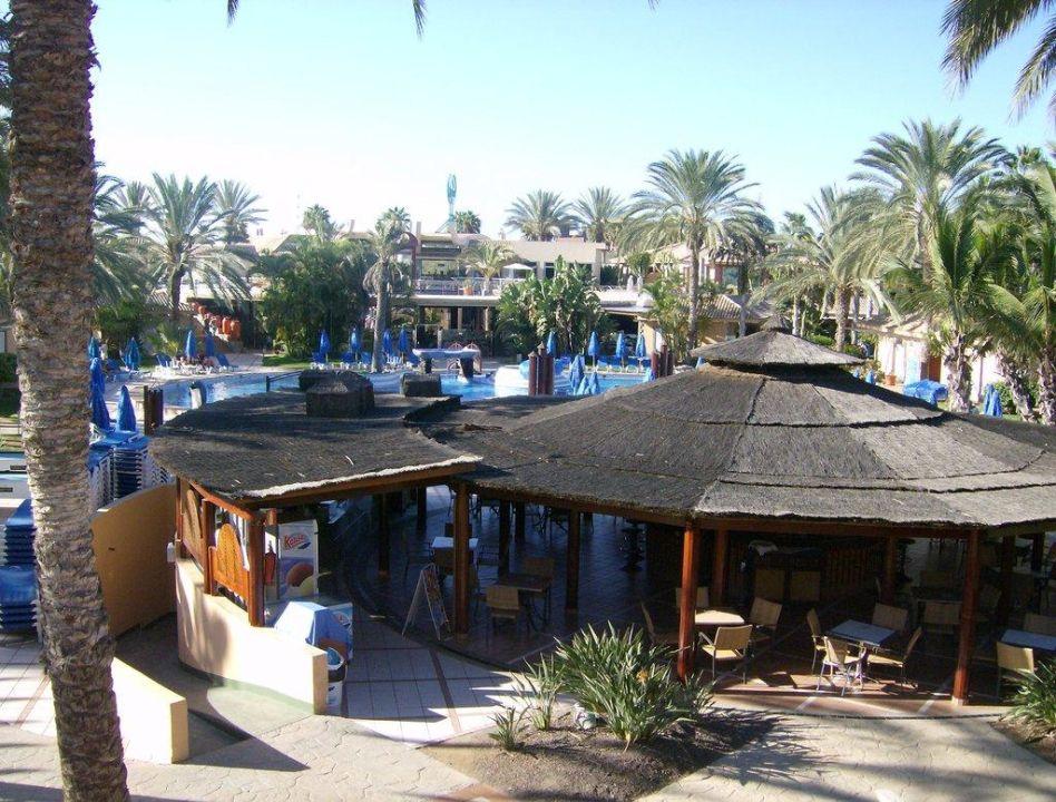 Bar und Pool Dunas Suites&Villas Resort