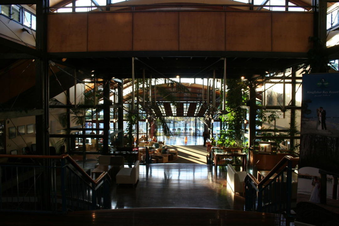 Balkone mit Blick in die Natur Kingfisher Bay Resort