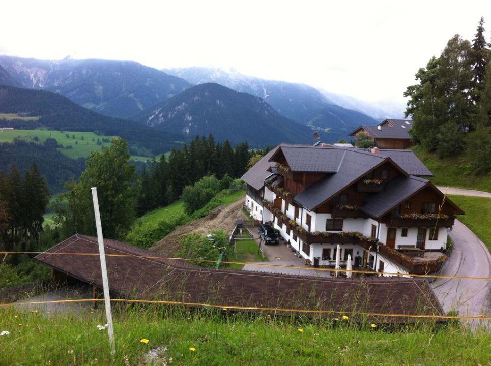 Vom Badesee zur Pferde Koppel Hotel Schröckerhof