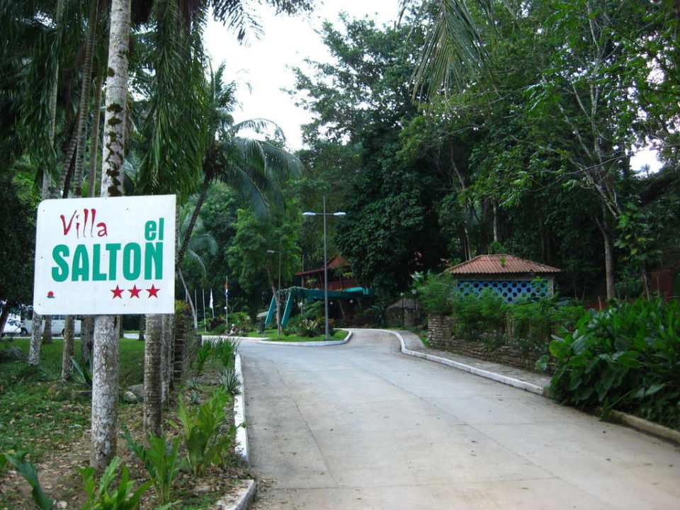 Blick aufs Restaurant Hotel El Salton