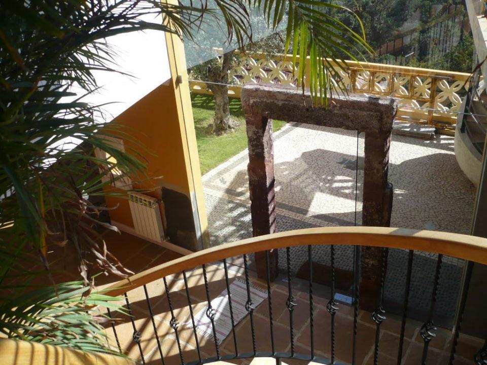 Eingangsbereich Hotel Colina da Faja