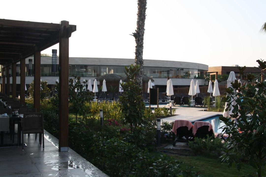 Grünanlage Sherwood Dreams Resort
