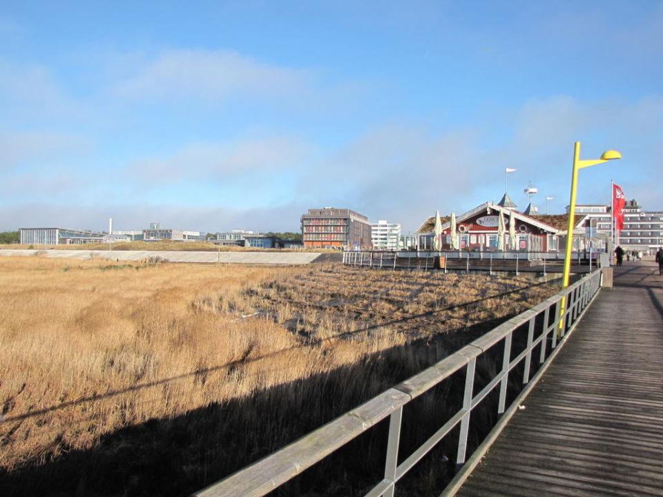 Außenbereich Strandgut Resort