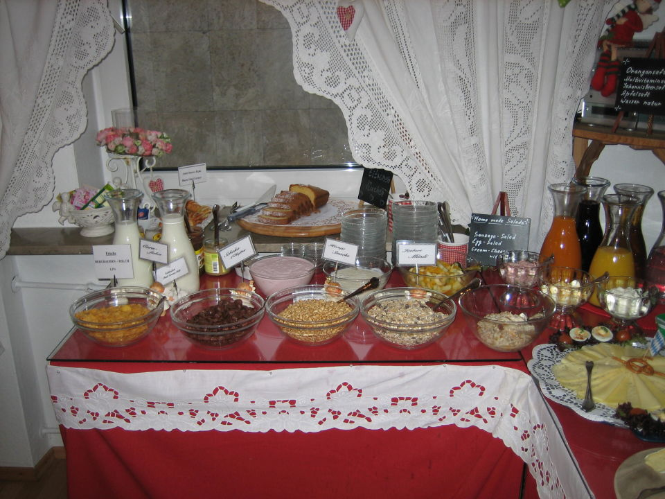 Frühstück Hotel Monaco