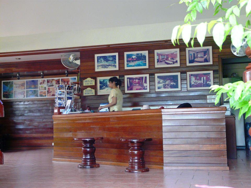 Blick nach Koh Phangan Hotel Smile House