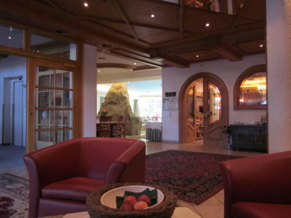 Eingangsbereich Hotel Alpen Residence