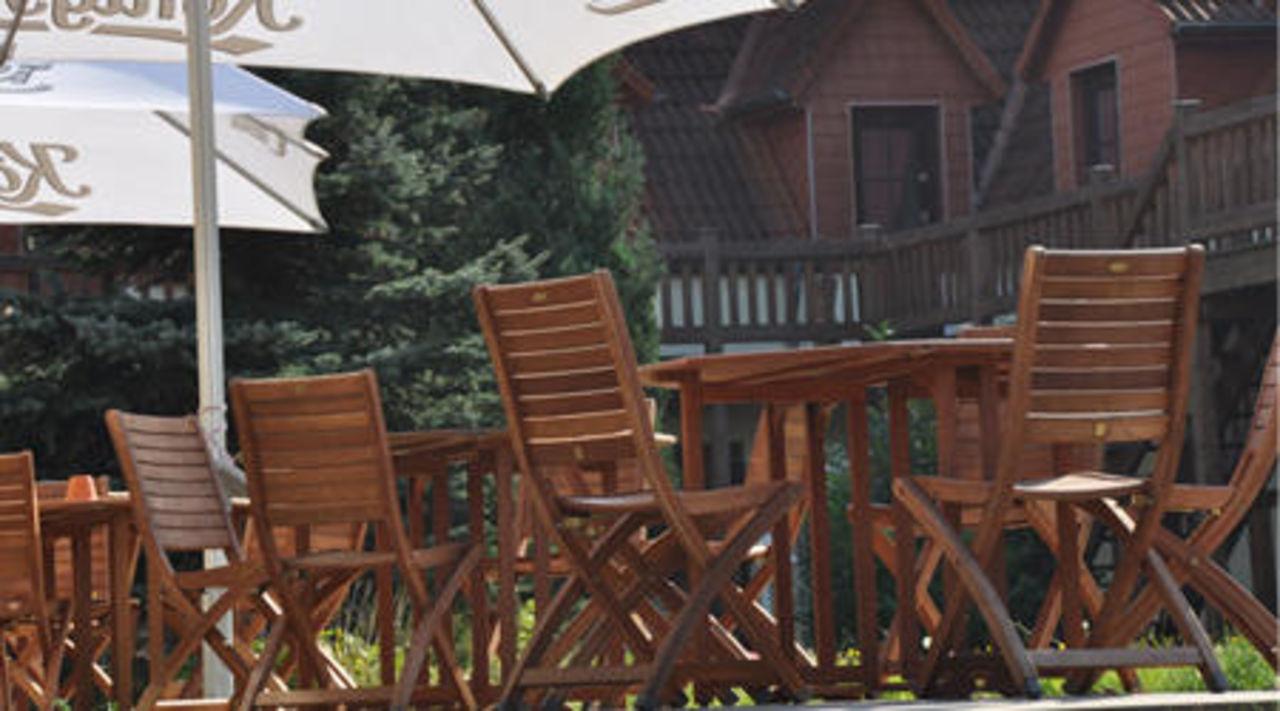Terrasse Hotel Landhotel Rügen