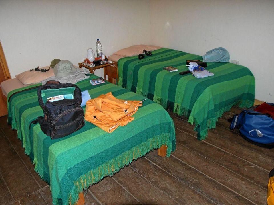 Campamento Boral, Blick ins Bad Hotel Campamento Boral