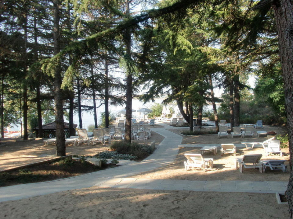 Außenbereich des Restaurants Hotel Sol Nessebar Palace