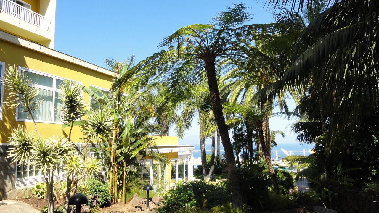 Hotel mit Palmfahrn Hotel Tigaiga