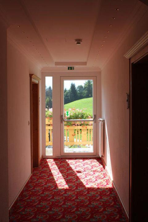 Blick vom Balkon  Hotel Glocknerhof