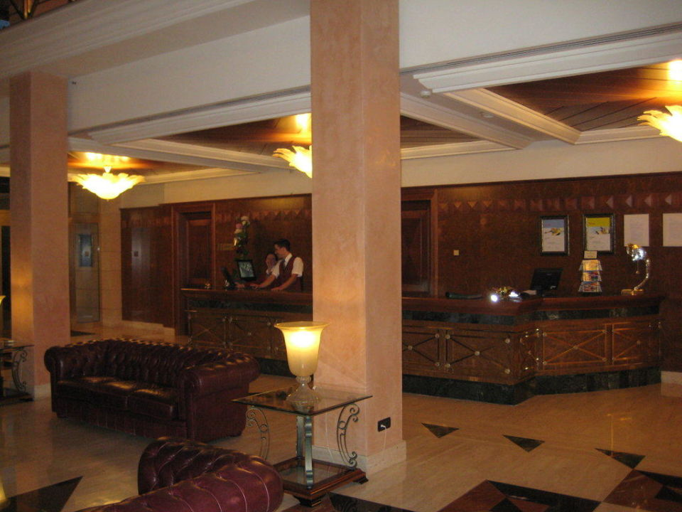 Lobby Hotel Hipotels Hipocampo Palace & Spa