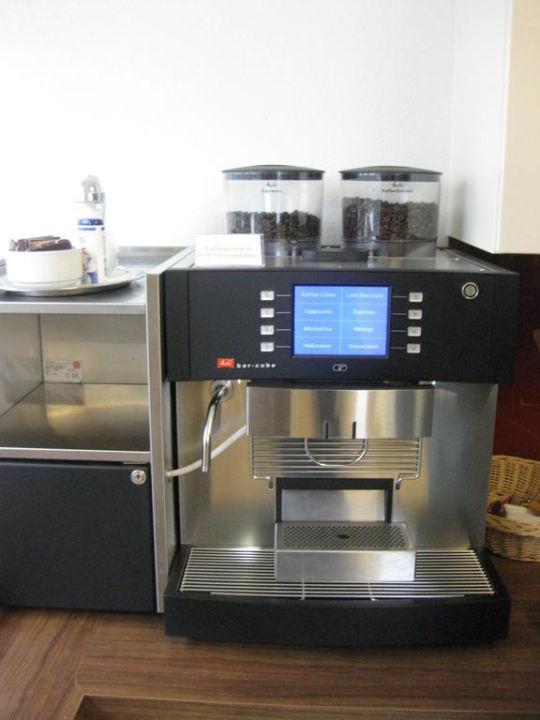 Kostenlose Kaffeespezialitaeten in der Kaffeekuech Hotel Mohren Garni