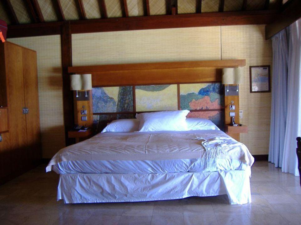 Zugang zur Lagune Hotel Sofitel Moorea Coralia la Ora