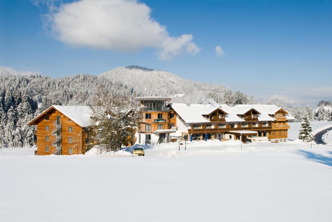 Hotel Oberstdorf im Winter Hotel Oberstdorf
