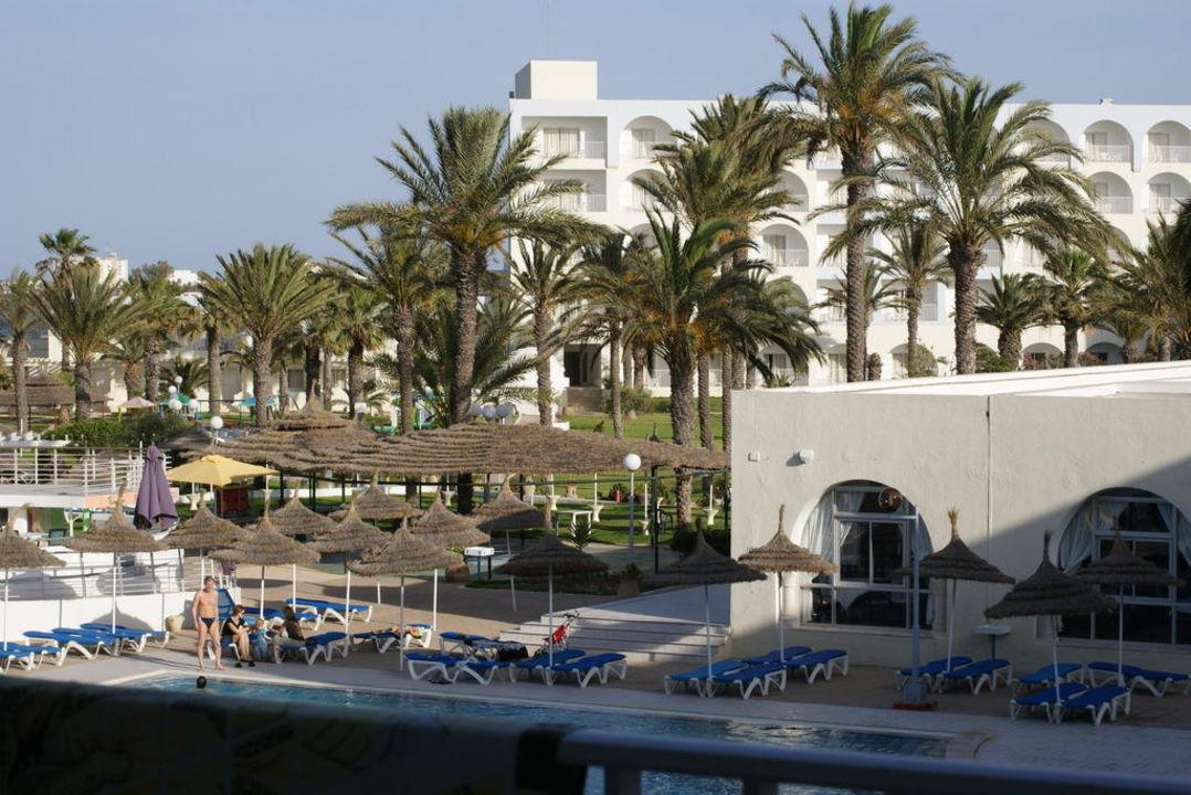 Aussicht vom Hotelzimmer PrimaSol El Mehdi