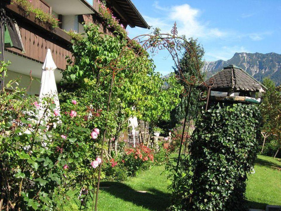 Garten  Hotel Garni Malerwinkl
