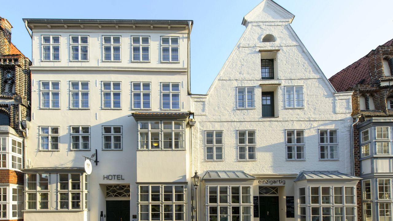 hotel einzigartig das kleine hotel im wasserviertel l neburg holidaycheck niedersachsen. Black Bedroom Furniture Sets. Home Design Ideas