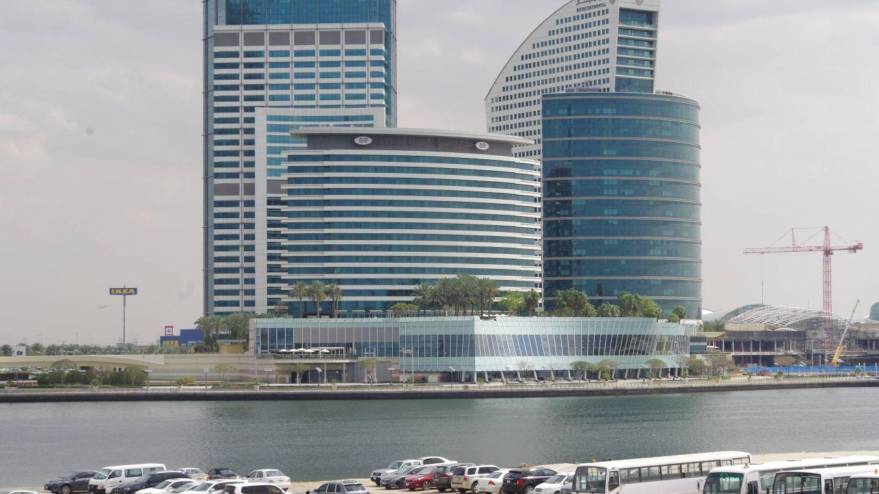 Hotel intercontinental dubai festival city in dubai for Hotels in dubai city